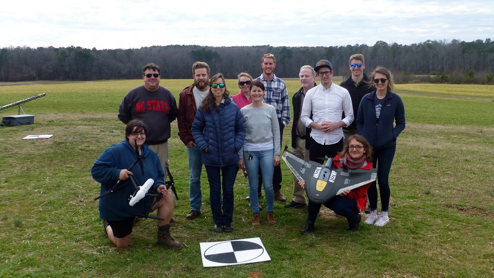 faculty drone researchers
