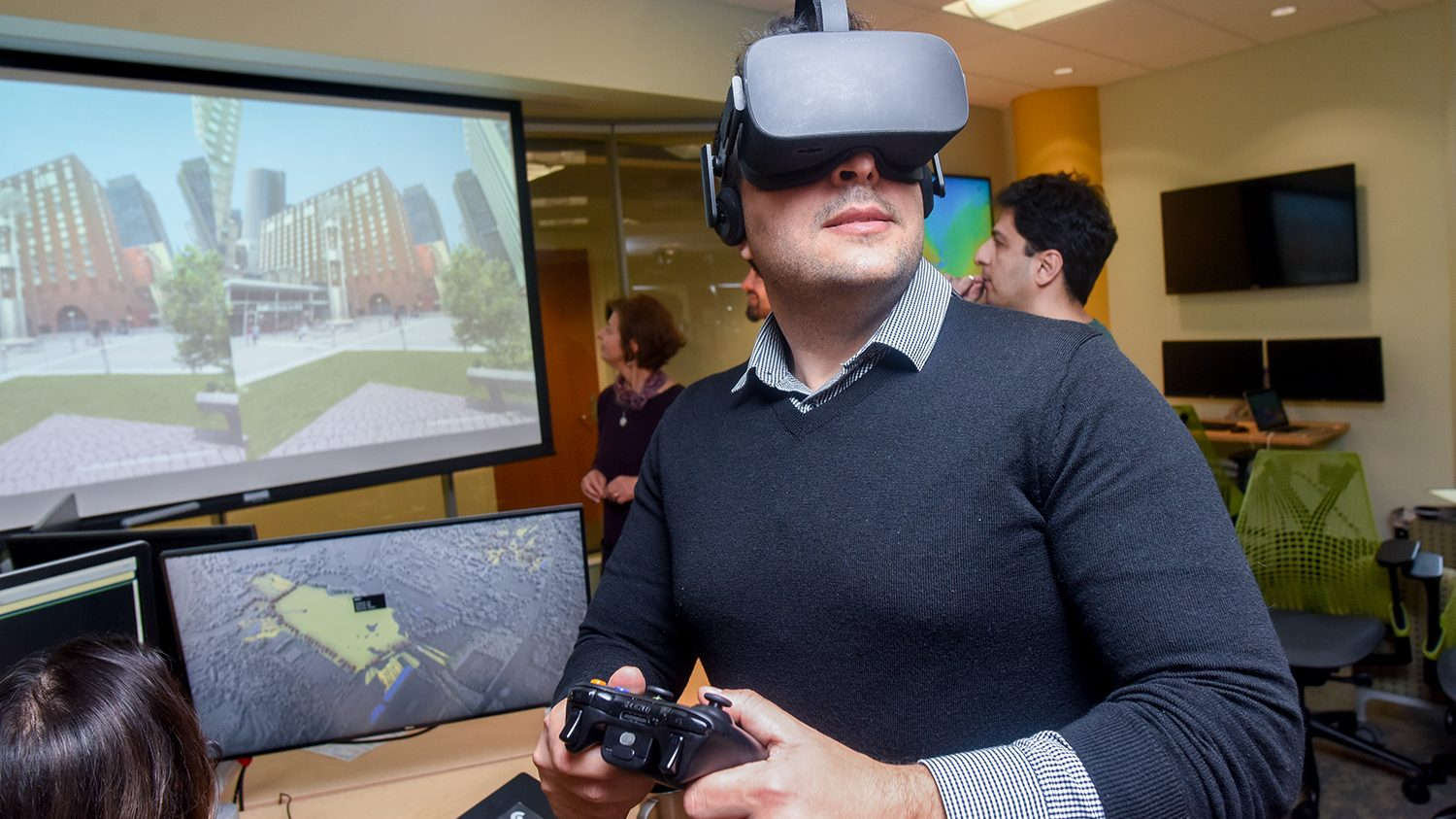 geospatial sciences virtual reality game