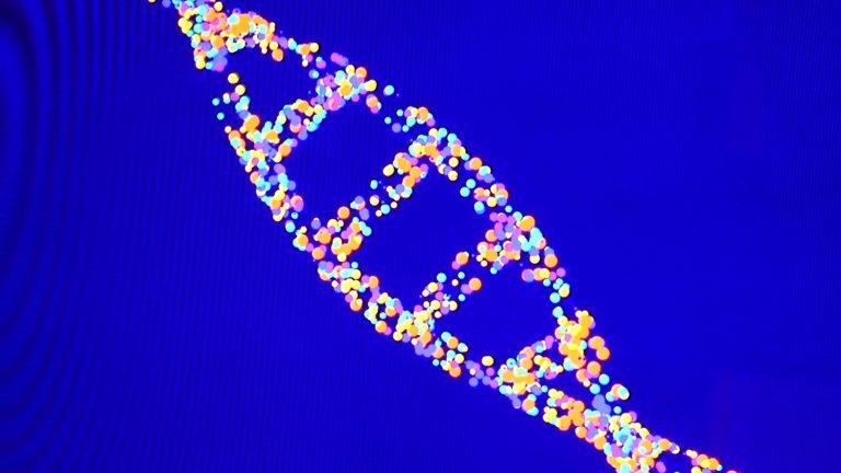 Graphic representation of DNA