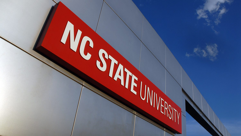 NC State campus gateway